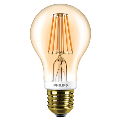 Picture of 7.5-48W Classic LED Dimmable A60 Gold Bulb