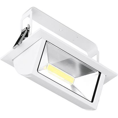 Picture of Prysim 45W Adjustable IP65 Non-Dimmable Rectangular LED Wallwasher