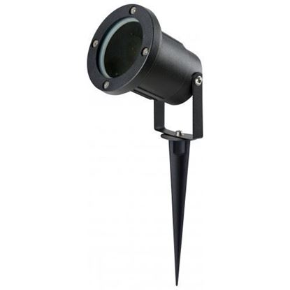Picture of Powder-Coat Black Finish GU10 Spike Light