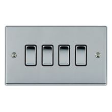 Picture of Hartland BC/BL 4 Gang 2 WAY 10AX Rocker Switch