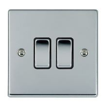 Picture of Hartland BC/BL 2 Gang Intermediate 10AX Rocker Switch