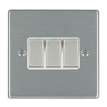 Picture of Hartland SS/WH 3 Gang 2 WAY 10AX Rocker Switch