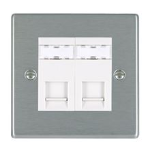 Picture of Hartland SS/WH 2 Gang RJ12 Outlet