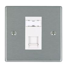 Picture of Hartland SS/WH 1 Gang RJ45 CAT5e Outlet