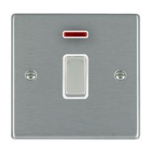 Picture of Hartland SS/WH 1 Gang 20A Double Pole + Neon Switch