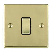 Picture of Hartland PB/BL 1 Gang 10AX Push To Make Retractive Rocker Switch