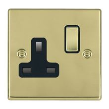 Picture of Hartland PB/BL 1 Gang 13A Switched Socket