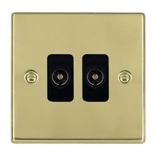 Picture of Hartland PB/BL 2G Non Isolated Television 2 in/2 out Coaxial Sockets
