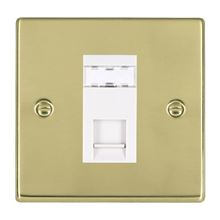 Picture of Hartland PB/WH 1G RJ45 Outlet Outlet