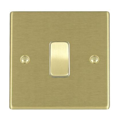 Picture of Hartland Satin Brass with White Inserts