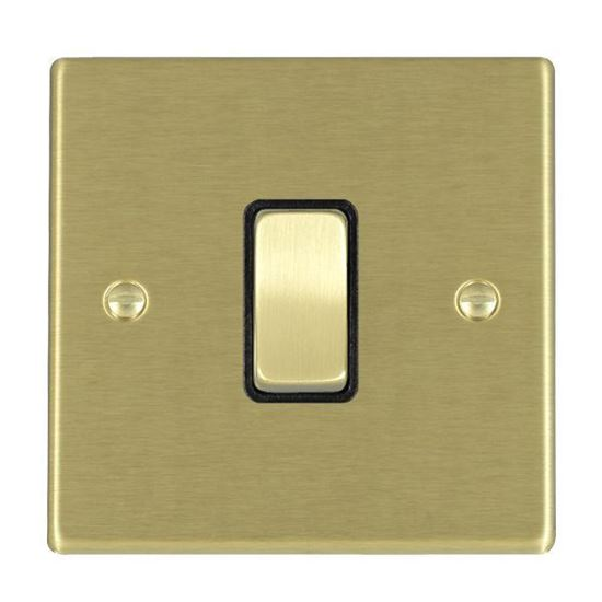 Picture of Hartland Satin Brass with Black Inserts