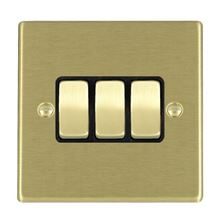 Picture of Hartland SB/BL 3 Gang 2 WAY 10AX Rocker Switch