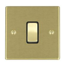 Picture of Hartland SB/BL 1 Gang 10AX Push To Make Retractive Rocker Switch