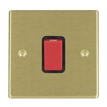 Picture of Hartland SB/BL 1 Gang 45A Double Pole Red Switch