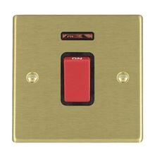 Picture of Hartland SB/BL 1 Gang 45A Double Pole Red Switch with Neon