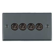 Picture of Hartland BN/BL 4 Gang 2 WAY 10AX Dolly Switch