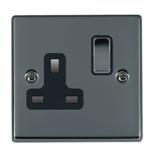 Picture of Hartland BN/BL 1 Gang 13A Switched Socket