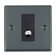 Picture of Hartland BN/BL 1 Gang Isolated Satellite Coaxial Socket