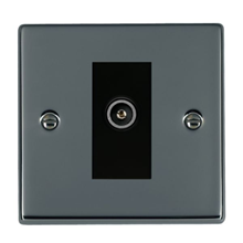 Picture of Hartland BN/BL 1 Gang TV DTV Screened Non Isolated Socket