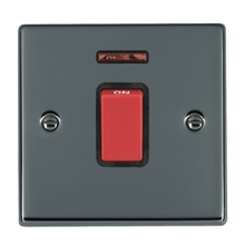 Picture of Hartland BN/BL 1G 45A Double Pole Red Switch