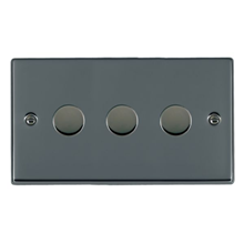 Picture of Hartland BN/BL 3 Gang 2 WAY 400W Resistive Dimmer