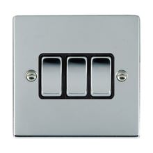 Picture of Sheer BC/BL 3 Gang 2 WAY 10AX Rocker Switch