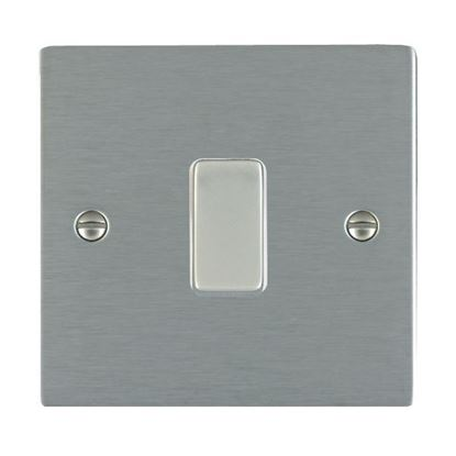 Picture of Sheer Satin Stainless Steel with White Insert
