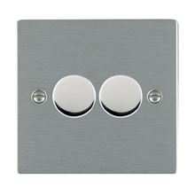 Picture of Sheer SS/WH 2 Gang 2 WAY 400W Resistive Dimmer