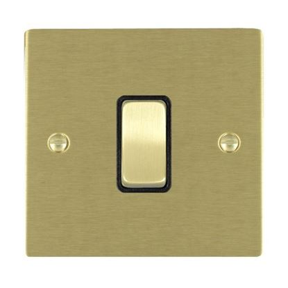Picture of Sheer Satin Brass with Black Insert
