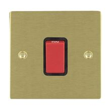 Picture of Sheer SB/BL 1 Gang 45A Double Pole Switches Red