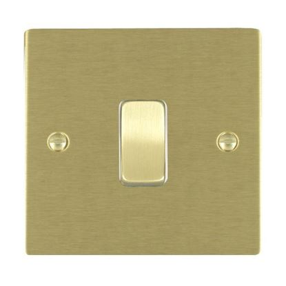 Picture of Sheer Satin Brass with White Insert