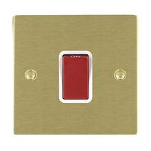 Picture of Sheer SB/WH 1 Gang 45A Double Pole Red Switch