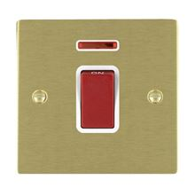 Picture of Sheer SB/WH 1 Gang 45A Double Pole Red Switch with Neon