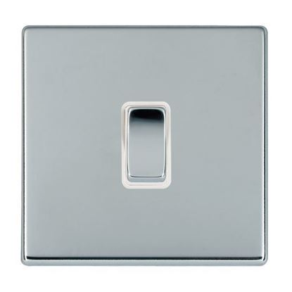 Picture of Hartland Screwless Bright Chrome with White Insert