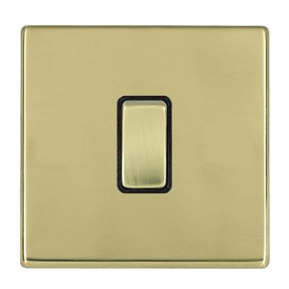 Picture of Hartland Screwless Polished Brass with Black Insert
