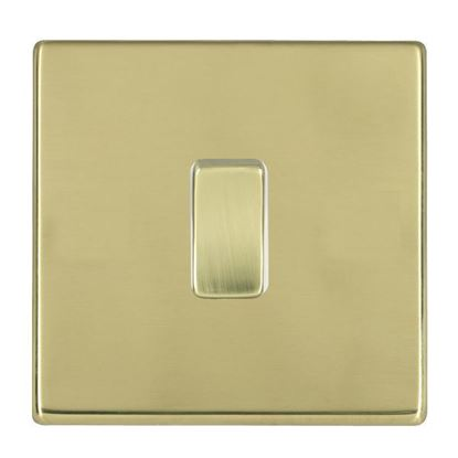 Picture of Hartland Screwless Polished Brass With White Insert