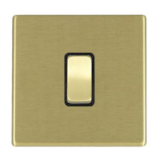 Picture of Hartland Screwless Satin Brass With Black Insert
