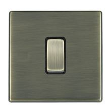 Picture of Hartland Screwless AB/BL 1 Gang 2 WAY 10AX PTM Retractive Rocker Switch
