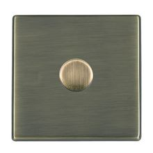 Picture of Hartland Screwless AB/BL 1 Gang 2 WAY 600W Push On/Off Resistive Dimmer