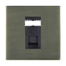 Picture of Sheer Screwless AB/BL 1 Gang RJ12 Outlet - Unshielded Outlet