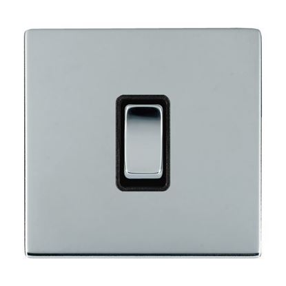 Picture of Sheer Screwless Bright Chrome with Black Insert