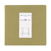 Picture of Sheer Screwless SB/WH 1 Gang RJ12 Outlet - Unshielded Outlet