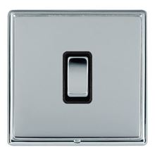 Picture of LRXBCBS 1 Gang 2 Way 10AX Rocker Switch - Black