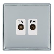 Picture of LRXBCBS Isolated TV/FM Diplexer 1 In/ 2 Out - White