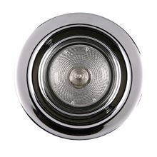 Picture of BRUSHED STEEL FIRE RATED TILTING DOWNLIGHT