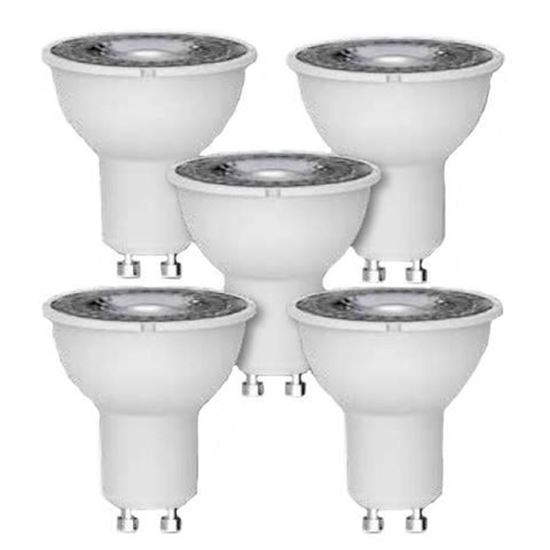 Picture of 5W LED GU10 - Pack of 5