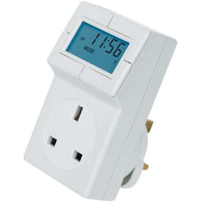 Picture of TRT05 - Electronic Plug-in Thermostat with 24 Hour Time Control