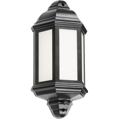 Picture of 230V 8W IP54 LED Half Wall Lantern with PIR