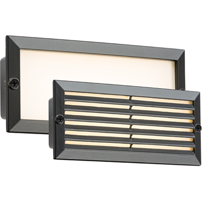 Picture of 230V IP54 5W White LED Recessed Brick Light