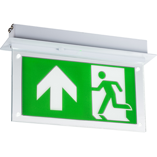 Picture of 230V 2W Recessed LED Emergency Exit Sign